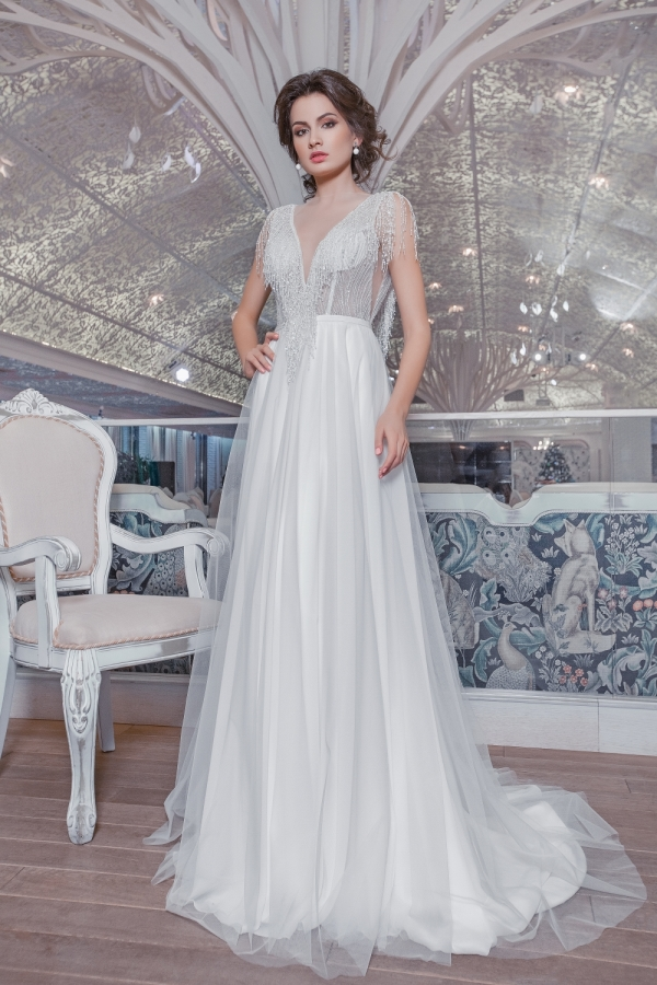 Wedding dress 30138а
