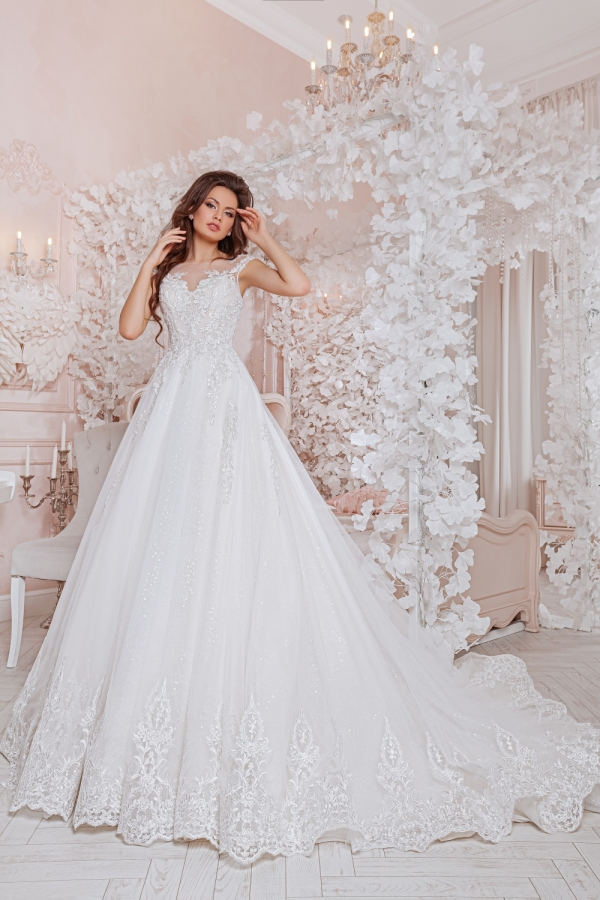 Wedding dress 4061