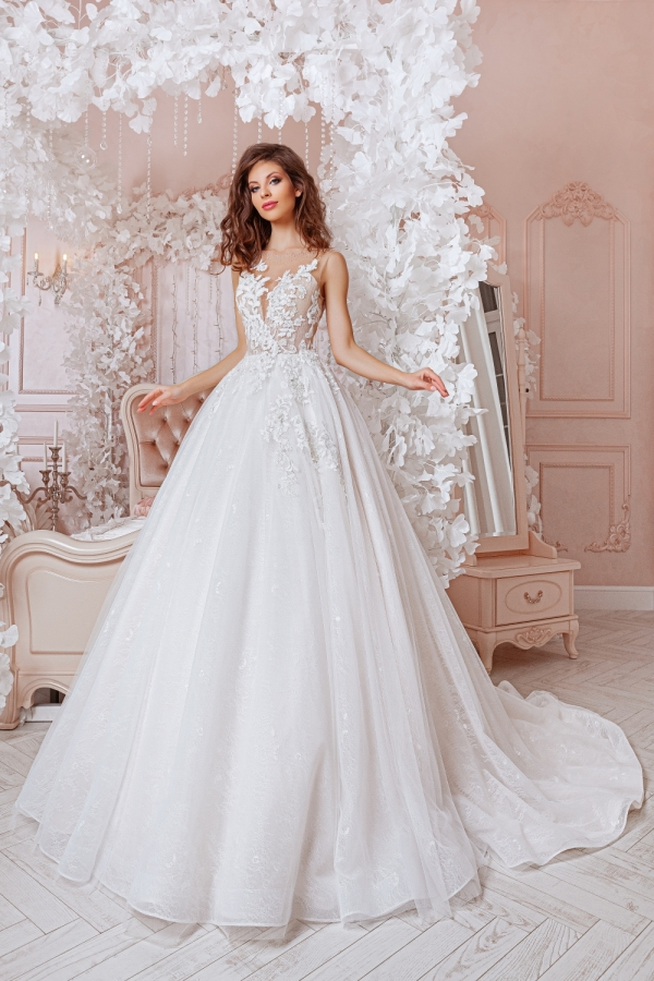 Wedding dress 4055