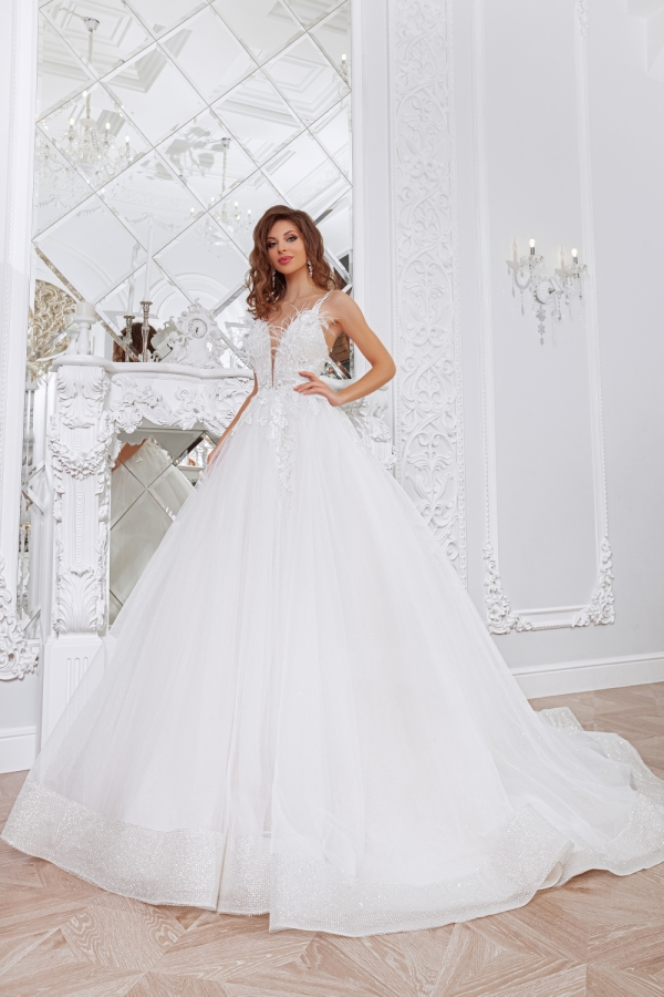Wedding dress 4052