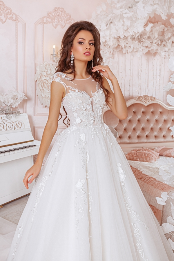 Wedding dress 4015