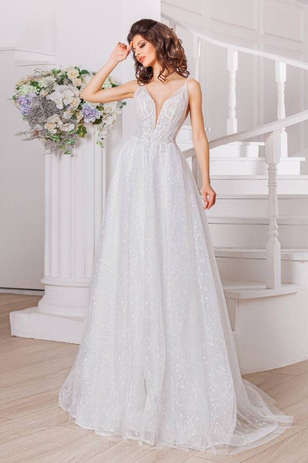 Wedding dress 4021