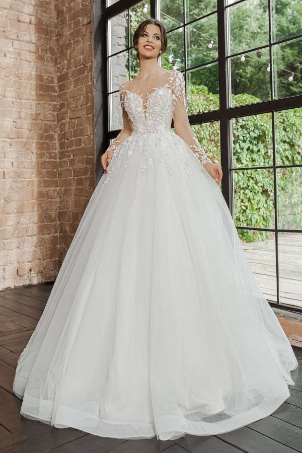 Wedding dress 5073