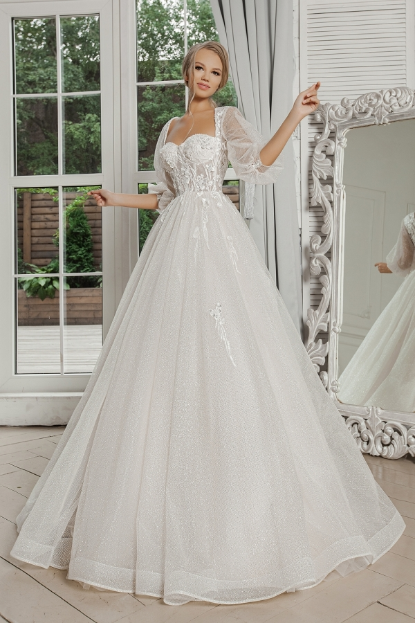 Wedding dress 5093