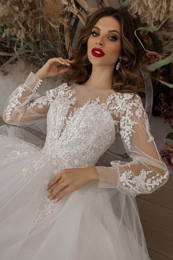 Wedding dress 5073а
