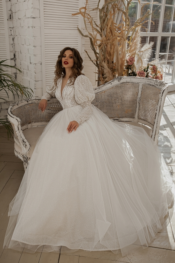 Wedding dress 6007а