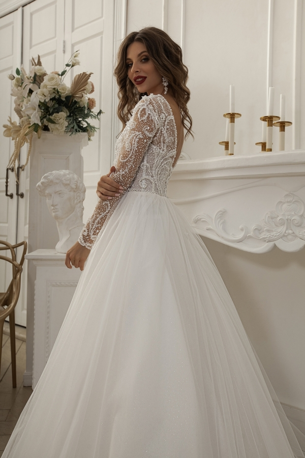 Wedding dress 6027