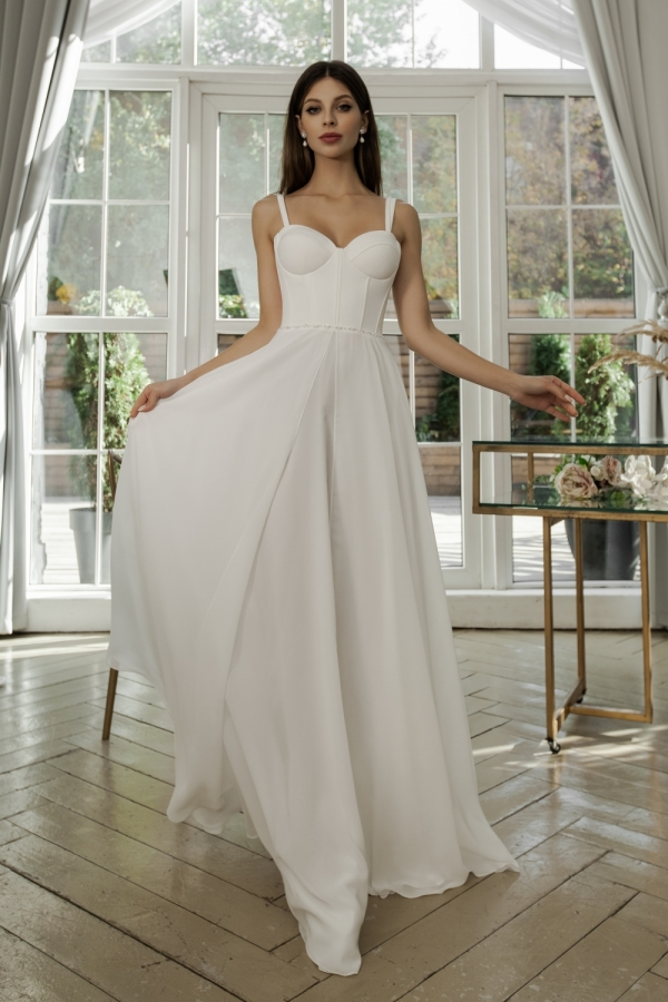 Wedding dress 4086