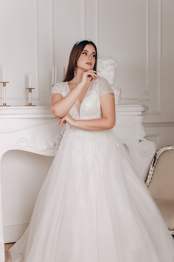 Wedding dress 5076а